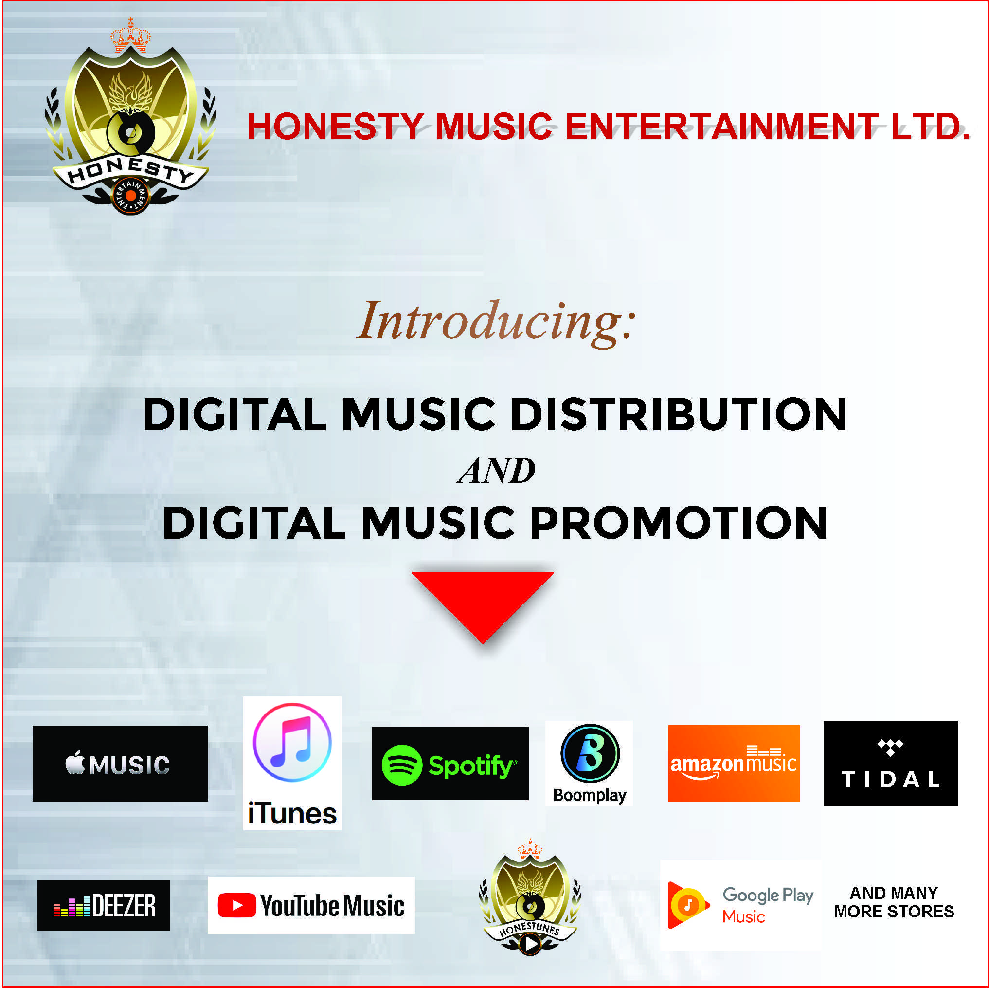 Publish Your Music With Us